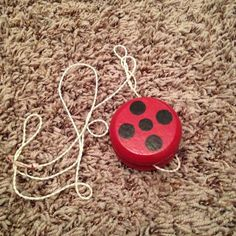 Miraculous Ladybug cosplay part 3: every lady needs a yoyo. #diycosplay #diy #cosplay #cosplaywip #miraculous #miraculouscosplay #miraculousladybug #miraculousladybugcosplay #ladybugcosplay #ladybug #ladybuglove #ladybugyoyo #cosplayprop