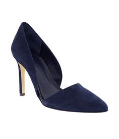 Found. D'Orsay heels in the perfect shade of blue. | Banana Republic