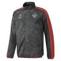 Manchester United UCL Training Presentation Suit Black