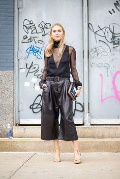 20 Looks with Fashion Blogger Pernille Teisbaek Glamsugar.com NYC Style