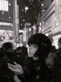 Snow GIF Process! | Kuvshinov Ilya on Patreon