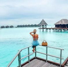 ~Keep calm and enjoy the view~ 📷 Maldives Luxury Resorts, Visit Maldives, Paradise On Earth, Luxury Holidays, Exploring, Wanderlust, Calm, Journey, Ocean