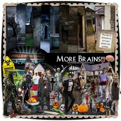 More Brains!!!! by Holliewood Studios @ DeviantScrap. A digital kit for your art and scrapbooking.