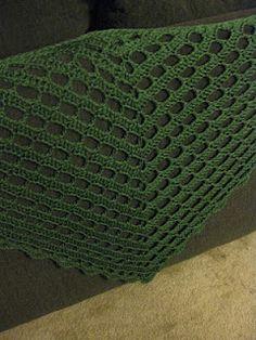 Engineered Crochet: Half Lace Shawl