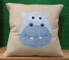 Almofada de hipopótamo