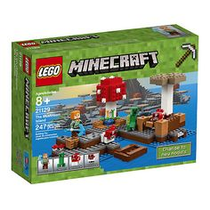 LEGO 21129 Minecraft The Mushroom Island Factory Creeper for sale online Lego Minecraft, How To Play Minecraft, Minecraft Crafts, Minecraft Ideas, Lego Lego, Lego Ideas, Minecraft Buildings, Lego For Kids, Toys For Boys