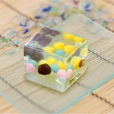 みなそこの詩 松琴堂 Asian Snacks, Asian Desserts, Fun Desserts, All Japanese, Japanese Sweets, Cap Cake, Cute Food, Candy, Sweet Stuff