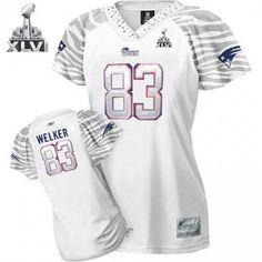 New England Patriots Wes Welker Women Zebra Field Flirt Fashion 2012 Super  Bowl Jersey Football Jerseys 8037f786b
