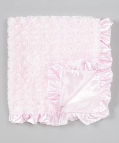 Take a look at this Pink Swirly Stroller Blanket by Bearington Collection on #zulily today!