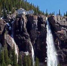 Bridal Veil Falls (Telluride, Colorado, USA)