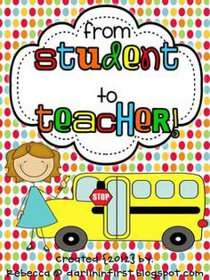 From Student to Teacher!