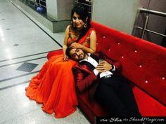 Real Weddings - Real Couple - Wedding - Indian Wedding - Lehenga - Shaadimagic - love story - Pre Wedding Photoshoot