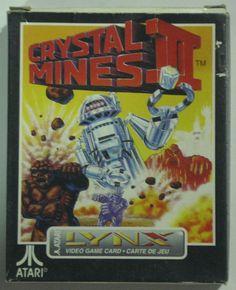 Crystal Mines 2 Completo para Atari Lynx