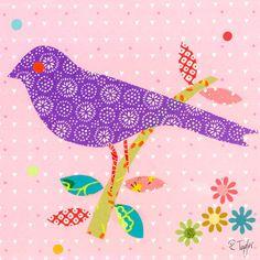 Mod Bird Canvas Art