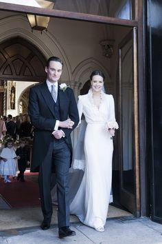 Arabella Musgrave and George Galliers-Pratt's Winter Wedding in London