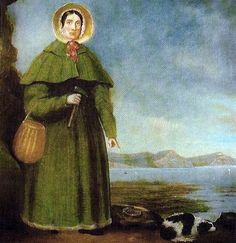 In 1811, Lyme Regis fossil hunter Mary Anning - aged just 12 - and her older brother Joseph unearthed the 2m (6.5ft) long skull of an ichthyosaur.  Anning spent a year extracting the dinosaur fossil from 205 million-year-old Blue Lias cliffs on the beach.  It remains one of the most famous geological finds on the Jurassic Coast, yet Anning was never credited as a scientist.