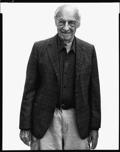 Richard Avedon - Saul Bellow in 2003.