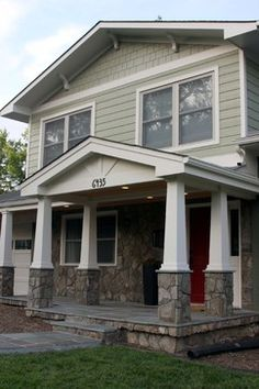 Craftsman Columns Porticos And Porches On Pinterest
