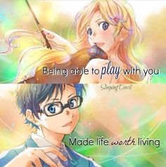 AHH YOUR LIE IN APRIL