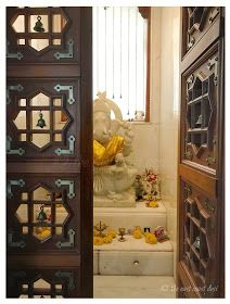 Ideas For Puja Room Door Design Ideas Indian Interior Design, Door Design Interior, Temple Design For Home, Art Room Doors, Mandir Design, Pooja Room Door Design, Indian Interiors, Puja Room, Indian Homes
