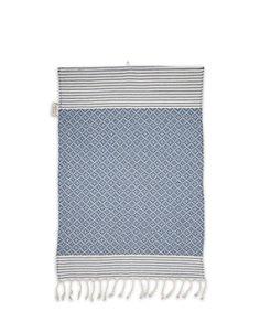 House Of Rym Frizzy Not Fuzzy/Blue Hand Towel