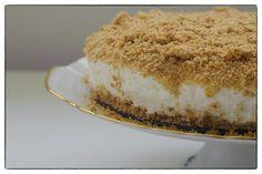 הבלוג של לייזה פאנלים   יומן מטבח קטן של עקרת בית גדולה   עוגת גבינה פירורים ללא אפייה