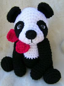 Teri's Blog: New Panda Bear Crochet Pattern