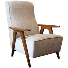1stdibs   Elegant Chair by Boutier, France 1953