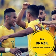 Congratulations to Brazil for winning the Gold medal!!!  #olympics #rio2016 #Brazil