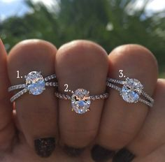 What you need to know about oval diamonds! #1 is my favorite