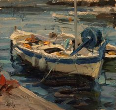 Docked by Derek Penix was selected as a Finalist in the March 2012 RayMar Art Painting Competition.
