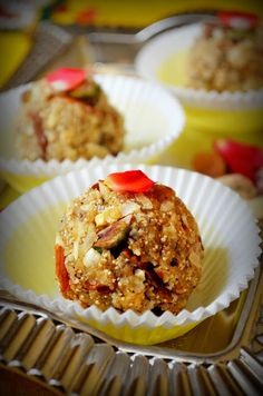 DRY FRUITS LADDU RECIPE / ANTINA UNDE / DINKACHE LADOO | #dryfruits #laddu #dessert #sweet #indiandessert #indiansweets
