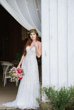 Southwest Wedding Ideas at Tatum Acres   The Perfect Palette Boho Wedding, Wedding Day, Creative Wedding Inspiration, White Gowns, Real Weddings, Wedding Dresses, Brides, Bouquet, Palette