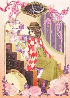 マツオヒロミ - Google 搜尋 Portrait Illustration, Illustrations, Illustration Sketches, Manga Art, Anime Art, Samurai, Grafiti, Creative Pictures, Anime Fantasy