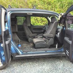Swivel seat out of a vanagon - Honda Element Owners Club Forum