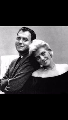 Nelson Riddle and Rosemary Clooney Nelson Riddle, Rosemary Clooney, Riddles, Behind The Scenes, Musicians, Jazz, Portrait, Gallery, Artist