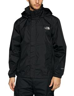The North Face Men's Resolve Jacket TNF Black Outerwear LG