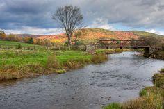 Marvin Creek and bridge, Smethport PA by Steve 1828, via Flickr