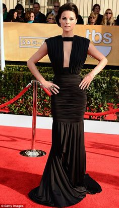 SAG Awards 2013 red carpet photos: Claire Danes, Anne Hathaway Julianne Moore and Sofia Vergara go mad for monochrome | Mail Online