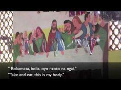 Words of Institution in Lingala