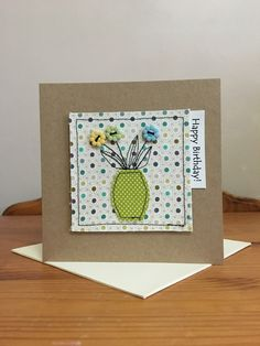 Ideas For Sewing Christmas Cards Diy Gifts Fabric Postcards, Fabric Cards, Paper Cards, Diy Cards, Embroidery Cards, Free Motion Embroidery, Handmade Birthday Cards, Greeting Cards Handmade, Freehand Machine Embroidery