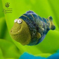 felted cute fish
