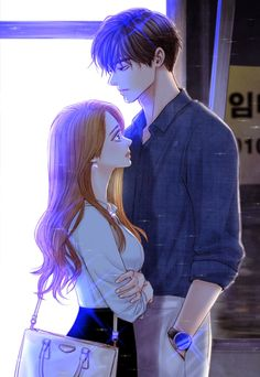 All About Anime. Daily Anime Posts Your One Hub For All Anime Needs Couple Amour Anime, Couple Anime Manga, Romantic Anime Couples, Anime Couples Drawings, Anime Couples Manga, Anime Guys, Cute Couples, Love Cartoon Couple, Cute Love Cartoons