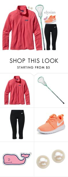 """""""Make. Up. Ur. Fricken. Mind."""" by sunglamourandpreppiness ❤ liked on Polyvore featuring Patagonia, NIKE, Vineyard Vines and Honora"""