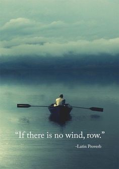 Take to the oars