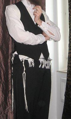 Jewish man wearing Tallit