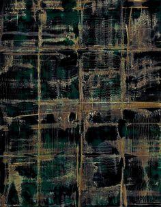 "Marco Breuer, ""Untitled (C-1152)"" (2012), chromogenic paper, exposed, folded, burned, 13 7/8 x 10 13/16 inches"