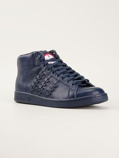 los angeles bf6e0 54f78 Adidas Originals X Opening Ceremony  stan Smith  Hi-top Sneakers - Zoo  Fashions