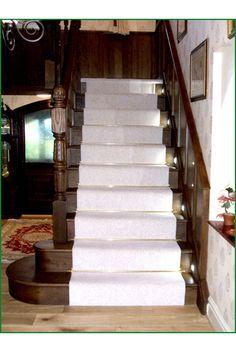 Oak Cut-String Staircase