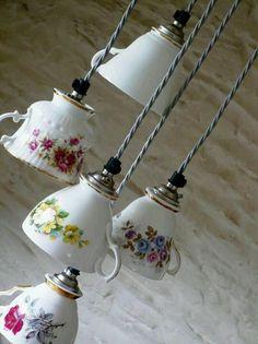 Cute teacup idea